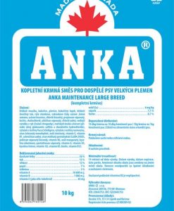 Granule pro psy ANKA Maintenance Large Breed - 10kg
