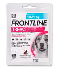 Antiparazitika antipar. spot-on FRONTLINE TRI-act  - 2-5kg