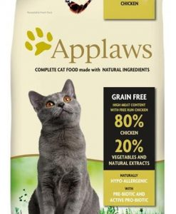 Granule pro kočky APPLAWS cat   SENIOR chicken                              - 400g