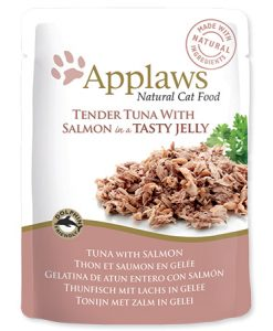 Kapsy APPLAWS kapsa TUNA/SALMON v želé - 70g