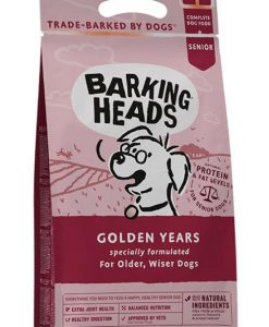 Granule pro psy Barking Heads  GOLDEN years                          - 18kg