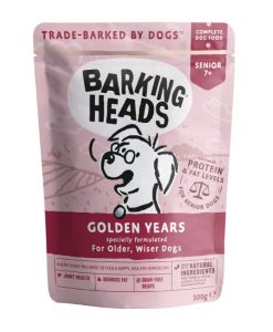 Kapsy a paštiky Barking Heads    kapsa GOLDEN years - 300g