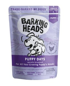 Kapsy a paštiky Barking Heads    kapsa  PUPPY days  - 300g