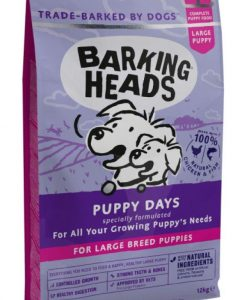 Granule pro psy Barking Heads   PUPPY days LARGE breed - 18kg