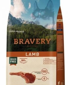 Vzorky BRAVERY dog  ADULT  mini LAMB                             - 70g