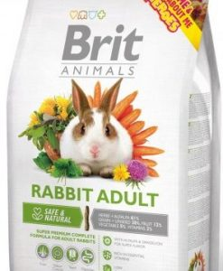 Krmiva BRIT animals  RABBIT adult  - 300g