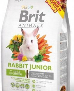 Krmiva BRIT animals  RABBIT  junior  - 1