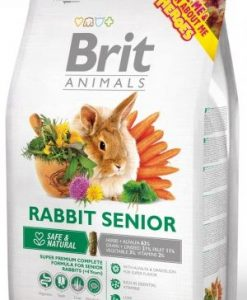 Krmiva BRIT animals  RABBIT senior  - 300g
