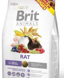 Krmiva BRIT animals  RAT complete   - 300g