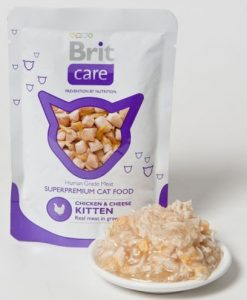Kapsy BRIT CARE cat kapsa   KITTEN - 80g