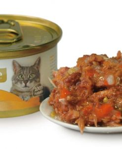 Konzervy BRIT CARE cat konzerva TUNA/CARROT/PEA - 80g