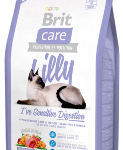 Granule pro kočky BRIT CARE cat  SENSITIVE - LILLY  - 2kg