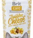 Pamlsky a pochoutky BRIT CARE cat SNACK  TRUFFLES CHEESE  - 50g