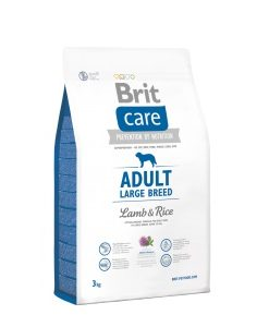 Granule pro psy Brit Care dog Adult Large Breed Lamb & Rice - 1kg