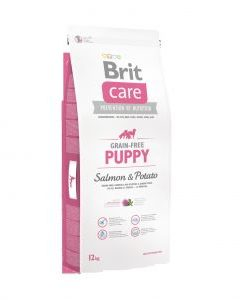 Granule pro psy Brit Care dog Grain Free Puppy Salmon & Potato - 12kg