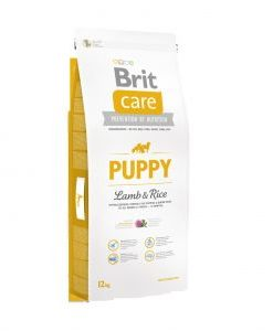 Granule pro psy Brit Care dog Puppy Lamb & Rice - 12kg