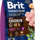 Granule pro psy BRIT dog Premium By Nature ADULT S - 1kg