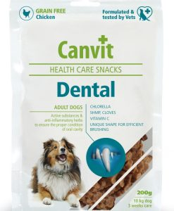 Vitamíny a kloubní výživa CANVIT dog snacks DENTAL   - 200g