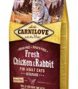 Granule pro kočky CARNILOVE cat   FRESH ADULT CHICKEN/rabbit   - 2kg