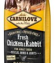 Granule pro psy CARNILOVE dog   FRESH  ADULT CHICKEN/rabbit    - 1