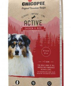 Granule pro psy CHICOPEE CN  ACTIVE chicken/rice    - 15kg