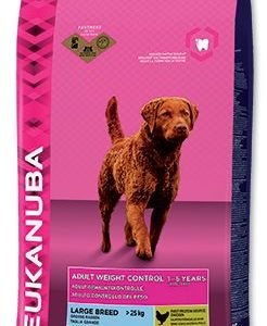 Granule pro psy Eukanuba   ADULT  large  light/weight - 3kg