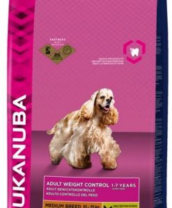 Granule pro psy Eukanuba   ADULT   medium/light/weight  - 15kg