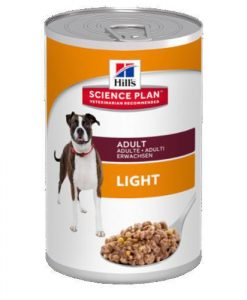 Konzervy Hills ADULT konz. LIGHT / chicken - 370g