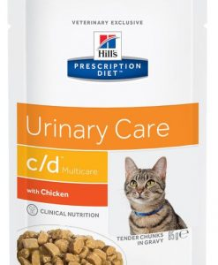 Kapsy Hills cat  c/d   kapsa  85g/MULTICARE - chicken