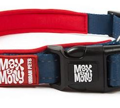 Obojky MAX and MOLLY obojek  MATRIX RED - XS: 1cm/22-35cm