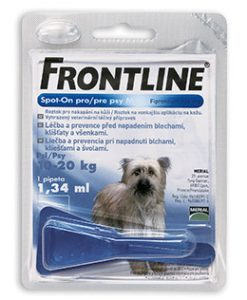 Antiparazitika Merial antiparazitní spot-on FRONTLINE dog - XL (40-60kg)