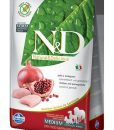 Granule pro psy N&D dog GF ADULT MEDIUM CHICKEN / POMEGRANATE - 12kg