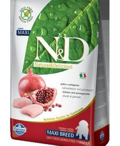 Granule pro psy N&D dog GF PUPPY MAXI CHICKEN / POMEGRANATE - 2