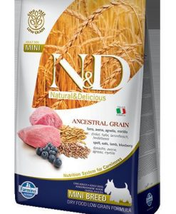 Granule pro psy N&D dog LG ADULT MINI LAMB / BLUEBERRY - 2