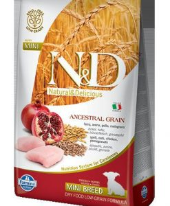 Granule pro psy N&D dog LG PUPPY MINI CHICKEN / POMEGRANATE - 800g