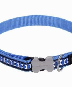 Obojky Obojek RD Reflective Medium Blue - 2