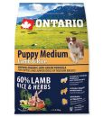 Granule pro psy ONTARIO dog   PUPPY MEDIUM lamb  - 2