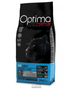 Granule pro kočky OPTIMAnova  cat   LIGHT - 0