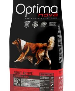 Granule pro psy OPTIMAnova dog   ADULT ACTIVE  - 12kg