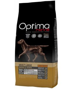 Granule pro psy OPTIMAnova dog  GF   ADULT LARGE  - 12kg
