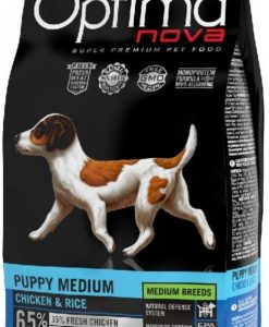 Granule pro psy OPTIMAnova dog     PUPPY  MEDIUM  - 2kg