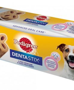Pamlsky a pochoutky PEDIGREE pochoutka DENTA stix  Twice Weekly   - SMALL   40g/1ks