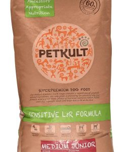 Granule pro psy PETKULT   dog   MEDIUM  JUNIOR  lamb/rice - 2x12kg