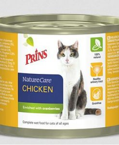 Konzervy PRINS cat konz. CHICKEN                           - 200g