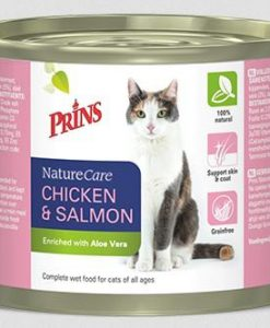 Konzervy PRINS cat konz. CHICKEN/salmon              - 200g