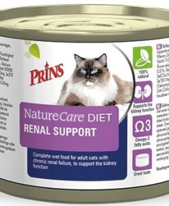 Konzervy PRINS NatureCare Veterinary Diet RENAL SUPPORT - 200 g