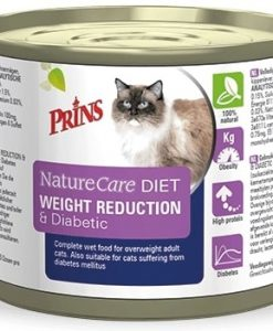 Konzervy PRINS NatureCare Veterinary Diet WEIGHT REDUCTION & Diabetic - 200 g