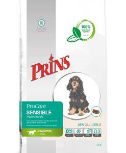 Granule pro psy PRINS ProCare grain free SENSIBLE hypoalergenní - 12kg