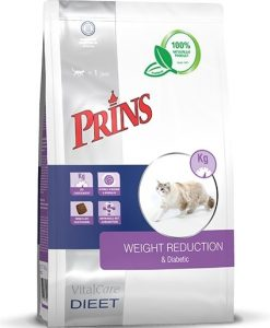 Granule pro kočky PRINS VitalCare Veterinary Diet WEIGHT REDUCTION & Diabetic - 1