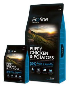 Granule pro psy Profine   PUPPY Chicken/Potatoes  - 15kg